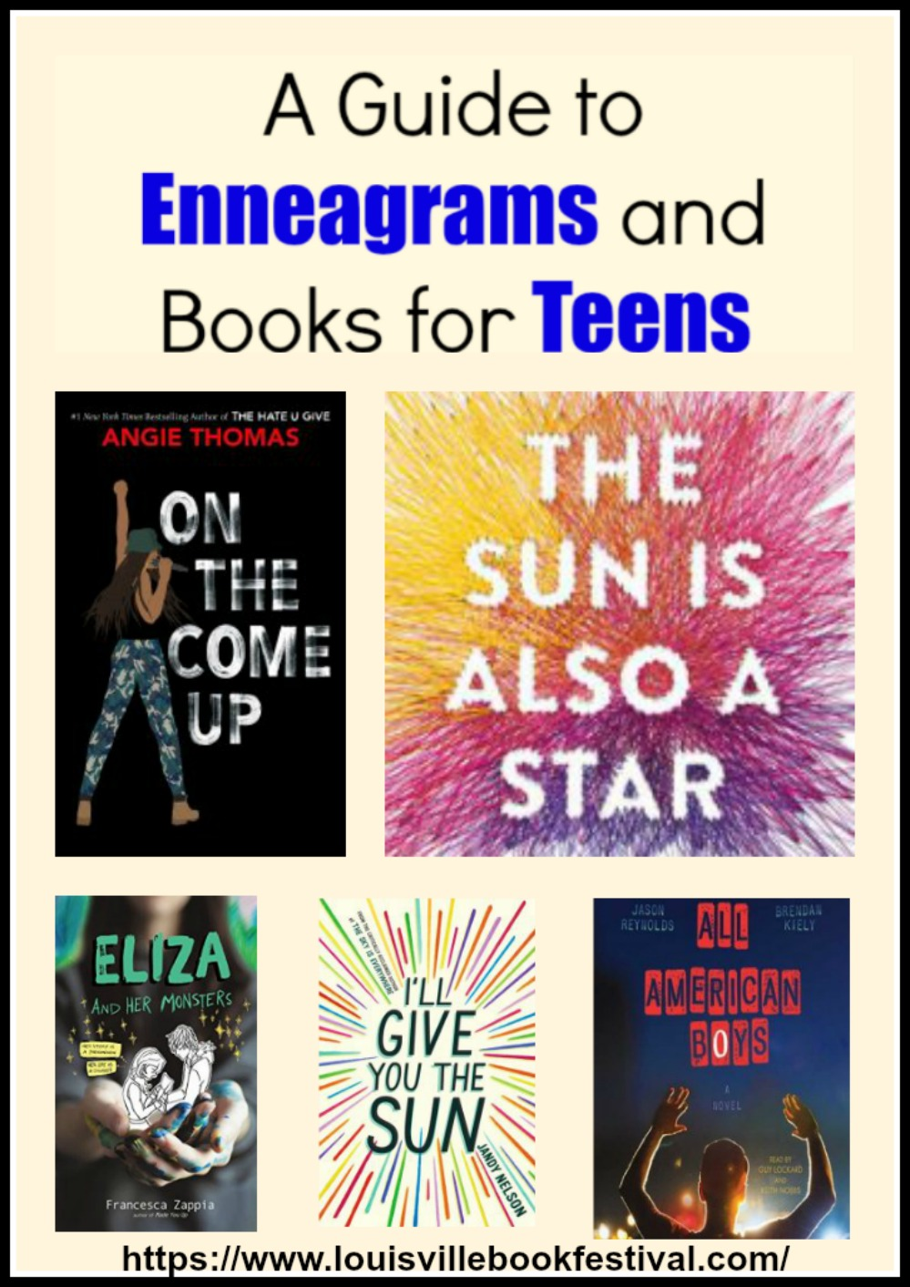 Enneagrams and Books for Teens
